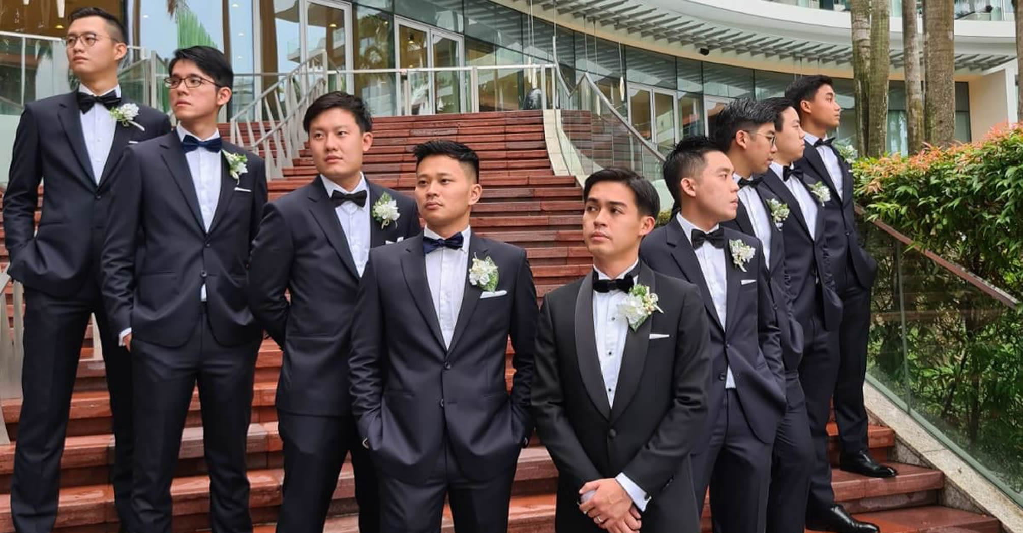 Groom Wedding Suit Rental