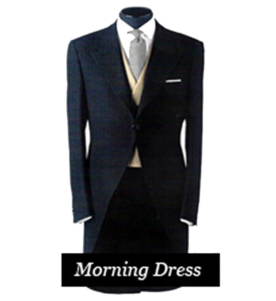 Morning Dress Suit Rental