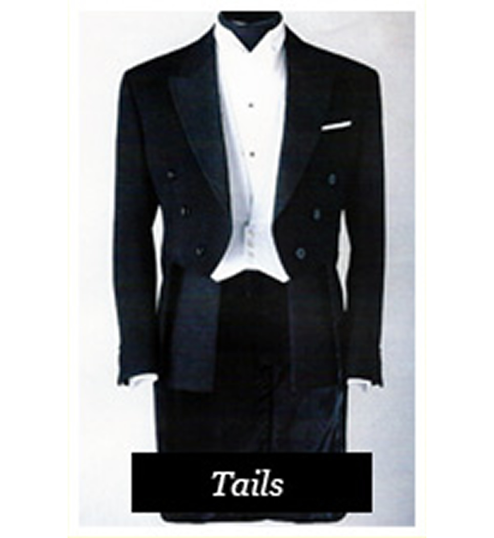 Tailcoat Suit Rental
